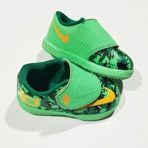 Green Nike Fun Shoes